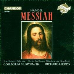 Handel - Messiah / Rodgers, D. Jones, Robson, Langridge, Terfel, Hickox