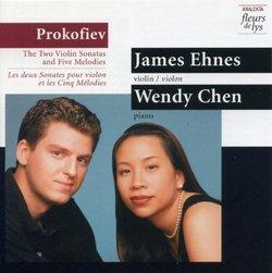 Prokofiev: 2 Violin Sonatas & 5 Melodies