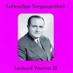 Lebendige Vergangenheit: Leonard Warren, Vol. 3