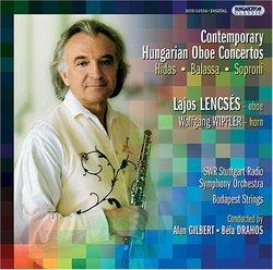 Contemporary Hungarian Oboe Concertos