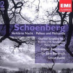 Schoenberg: Verklärte Nacht; Pelleas und Melisande