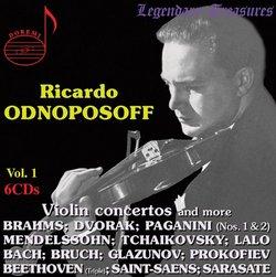 Ricardo Odnoposoff, Vol. 1
