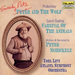 Prokofiev: Sneaky Pete and the Wolf/ Carnival of the Animals