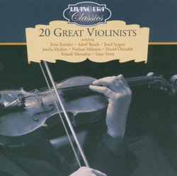 20 Great Violinists