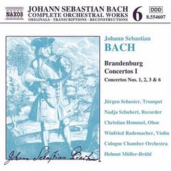 Bach Edition 6 - Bach: Brandenburg Concertos I (1,2,3 & 6)