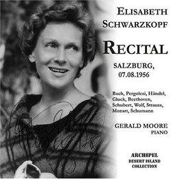 Recital: Salzburg, 07-08-1956