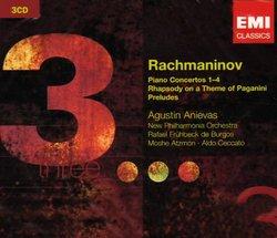 Rachmaninov: Piano Concertos 1-4; Rhapsody on a Theme of Paganini; Preludes