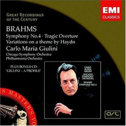 Brahms: Symphony No. 4; Tragic Overture; etc. (Bonus CD)