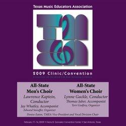 2009 Texas Music Educators Association, All-State Men's and Women's Choir