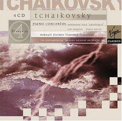 Tchaikovsky: Piano Concertos, Symphony Pathetique, The Seasons, & Piano Pieces; Mikhail Pletnev/Russian National Orchestra (4 CD's)