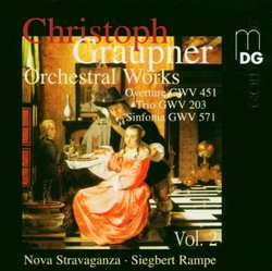 Graupner: Orchestral Works, Vol. 2