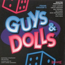 Guys & Dolls: Selected Highlights (1995 London Studio Cast)