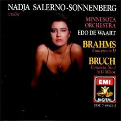 Brahms: Violin Concerto in D/Bruch: Concerto #1 in G Minor; Nadja Salerno-Sonnenberg