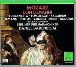 Mozart - Don Giovanni / Furlanetto · Tomlinson · Salminen · Heilmann · Pertusi · Cuberli · Meier · Rodgers · Barenboim