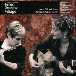 Songs and Dances from the New Village for Flute & Guitar