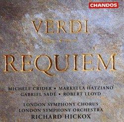 Verdi: Requiem [Includes Catalog]