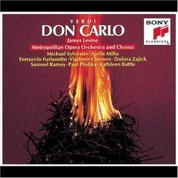 Verdi - Don Carlo / Sylvester, Millo, Furlanetto, Chernov, Zajick, Ramey, Plishka, Battle, MET, Levine