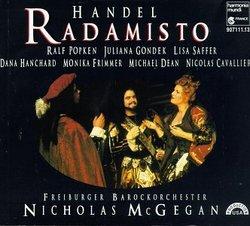 Handel - Radamisto / Popken, Gondek, Saffer, Hanchard, Frimmer, M. Dean, Cavalier, Freiburg Baroque Orch., McGegan