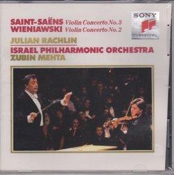 Saint-Saens: Violin Concerto No. 3 / Wieniawski: Violin Concerto No. 2