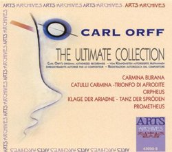 Carl Orff: The Ultimate Collection [Box Set]