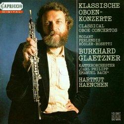 Mozart: Concerto for oboe No2; Rosetti: Oboe Concerto in F