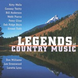 Legends Of Country Music (MCA)