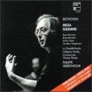 Beethoven: Missa Solemnis /Mannion * Remmert * Taylor * Hauptmann * La Chapelle Royale * Orchestre des Champs Elysees * Herreweghe