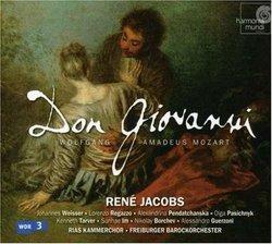 Mozart - Don Giovanni / Weisser, Regazzo, Pendatchanska, Pasichnyk, Tarver, Im, Borchev, Guerzoni, RIAS, Freiburg, Jacobs (Hybr)
