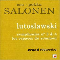 Lutoslawski: Symphonies Nos. 3 & 4; Les Espaces Du Sommeil