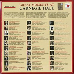 Great Moments at Carnegie Hall