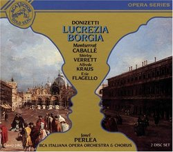 Donizetti: Lucrezia Borgia / Perlea, Caballé