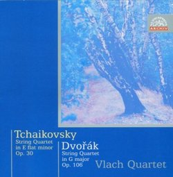 Tchaikovsky: String Quartet in E flat minor Op. 30; Dvorák: String Quartet in G major Op. 106