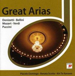 Donizetti, Bellini, Mozart, Verdi, Puccini: Great Arias