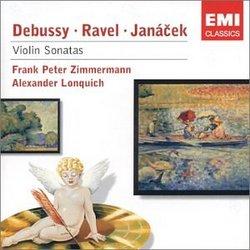 Debussy, Ravel, Janacek: Violin Sonatas