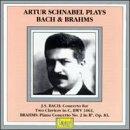 Plays Bach & Brahms