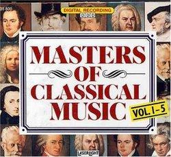 Masters of Classical Music, Vols. 1-5 (Box Set)