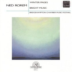 Rorem: Winter Pages / Bright Music