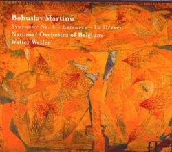 Martinu: Symphony No. 4; Estampes; Le Départ