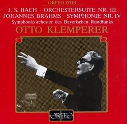 Bach: Orchestersuite nr. 3; Brahms: Symphonie Nr. 4