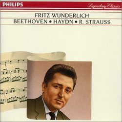 Fritz Wunderlich sings Beethoven, Haydn, R. Strauss