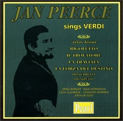 Jan Peerce Sings Verdi