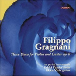 Filippo Gragnani: Three Duos for Violin and Guitar Op. 8