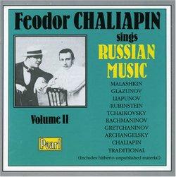 Feodor Chaliapin Sings Russian Music, Vol. 2