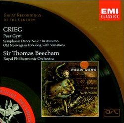 Grieg: Peer Gynt; Symphonic Dance No. 2; In Autumn; Old Norwegian Folksong with Variations