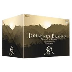 Johannes Brahms: Complete Works [Includes CD-ROM] [Box Set]