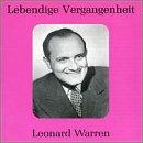 Lebendige Vergangenheit: Leonard Warren