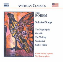 Ned Rorem: Selected Songs