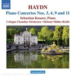 Haydn: Piano Concertos Nos. 3, 4, 9 & 11