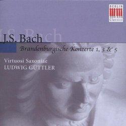 Bach: Brandenburgische Konzerte 1, 3 & 5