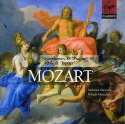 Mozart: Symphonies 38-41